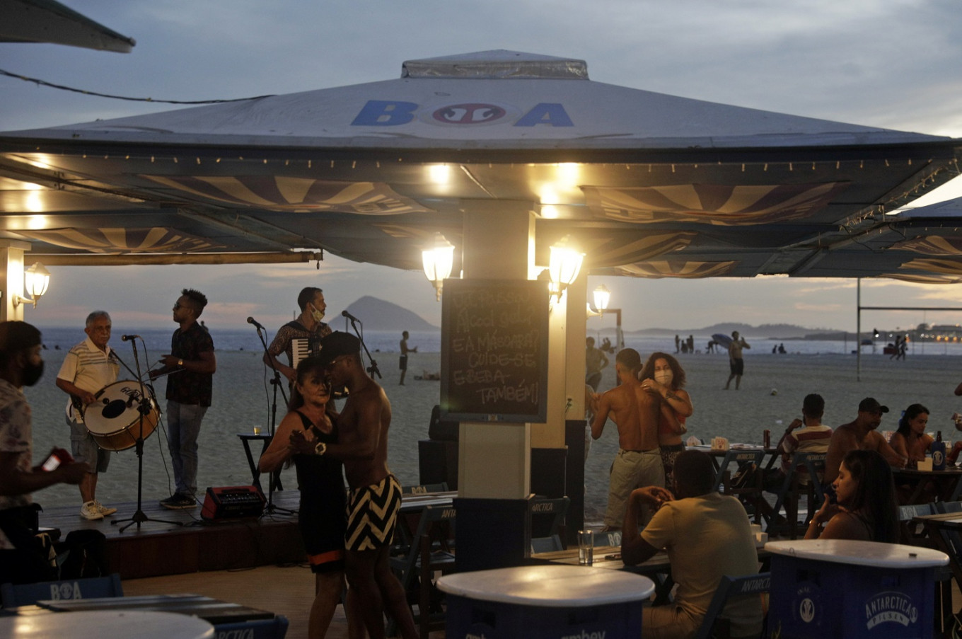 Young Brazilian partygoers stir fears of second COVID-19 wave