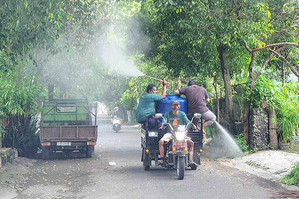 Sleman to restrict people's mobility after year-end holidays to avoid case surge