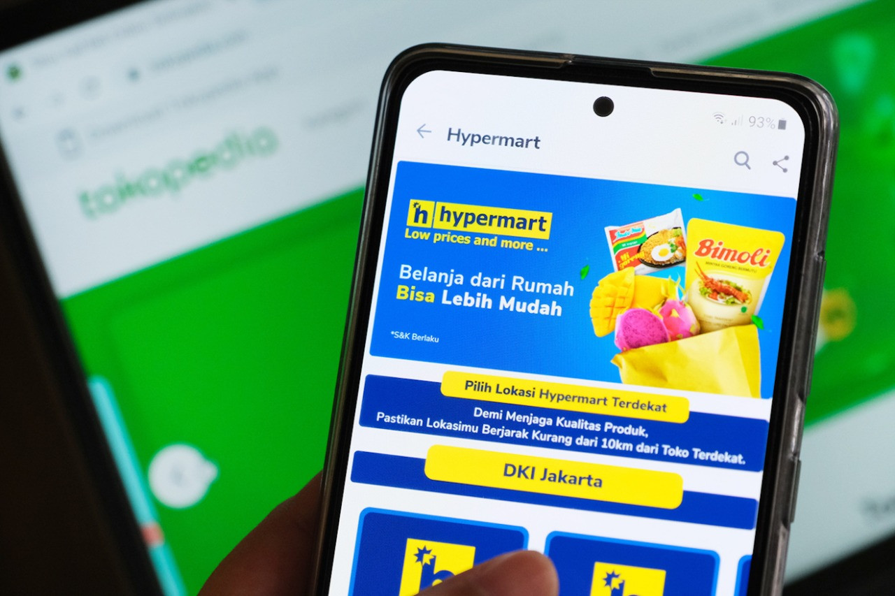 Matahari's supermarket chains join Tokopedia, seeking better online sales