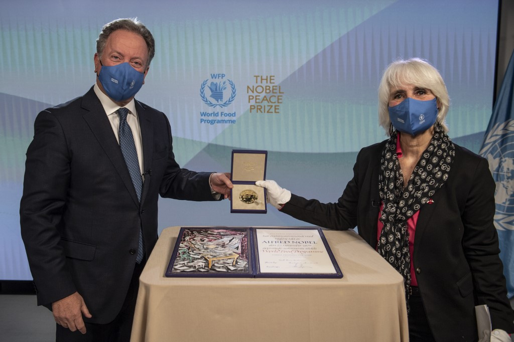 Nobel-winning UN food agency warns of 'hunger pandemic' worse than COVID