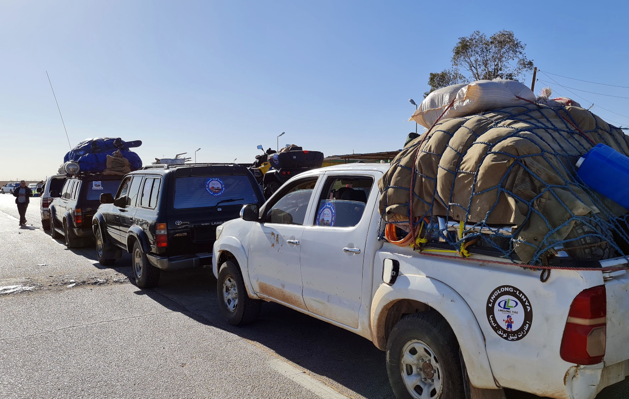 Libya 4WD road warriors on bumpy ride to revive tourism