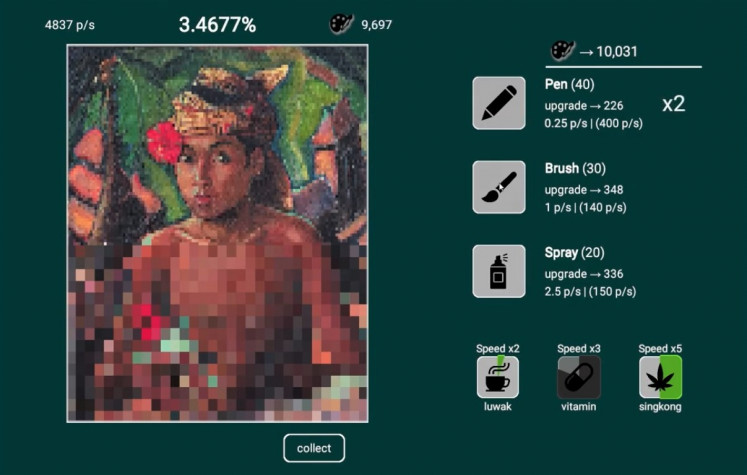 Art for all: In the game 'Good Artist Copy, Great Artist Steal', the player is tasked with duplicating paintings from the Museum Pasifika in Bali.