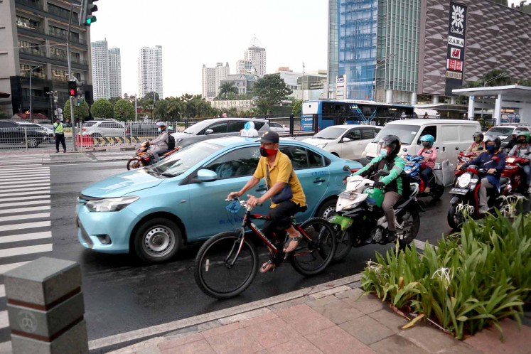 Bike-friendly development plans elicit praise from Jakarta's cycling communities