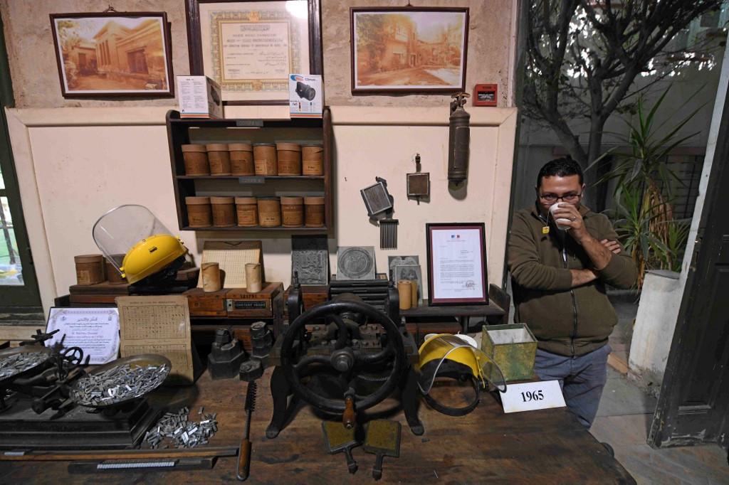 Cairo restored hieroglyph typecaster tells new stories