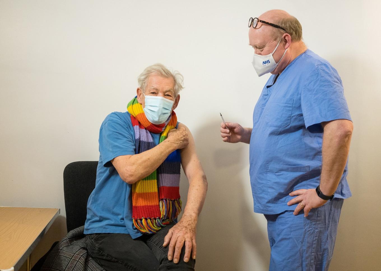 Gandalf actor Ian McKellen euphoric after receiving COVID-19 vaccine