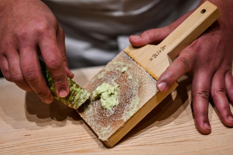 Japan's wasabi producers farm 'green gold'