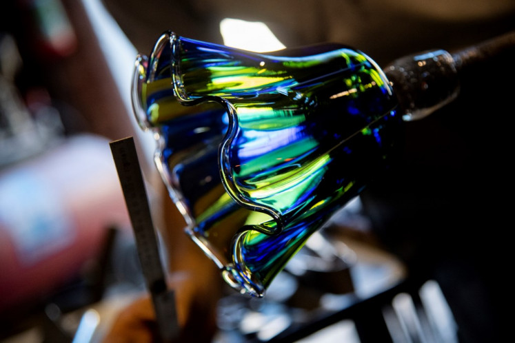 Venice hails UN listing for virus-hit glass bead makers