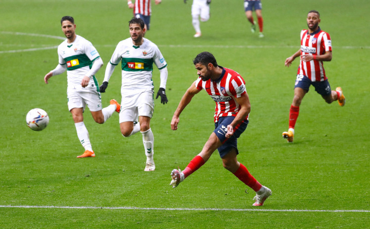 Atletico has everything it takes to win La Liga, says Costa