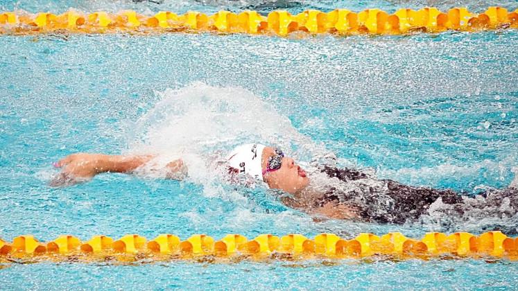 Young swimmer Elysha Pribadi wins two medals in Australia