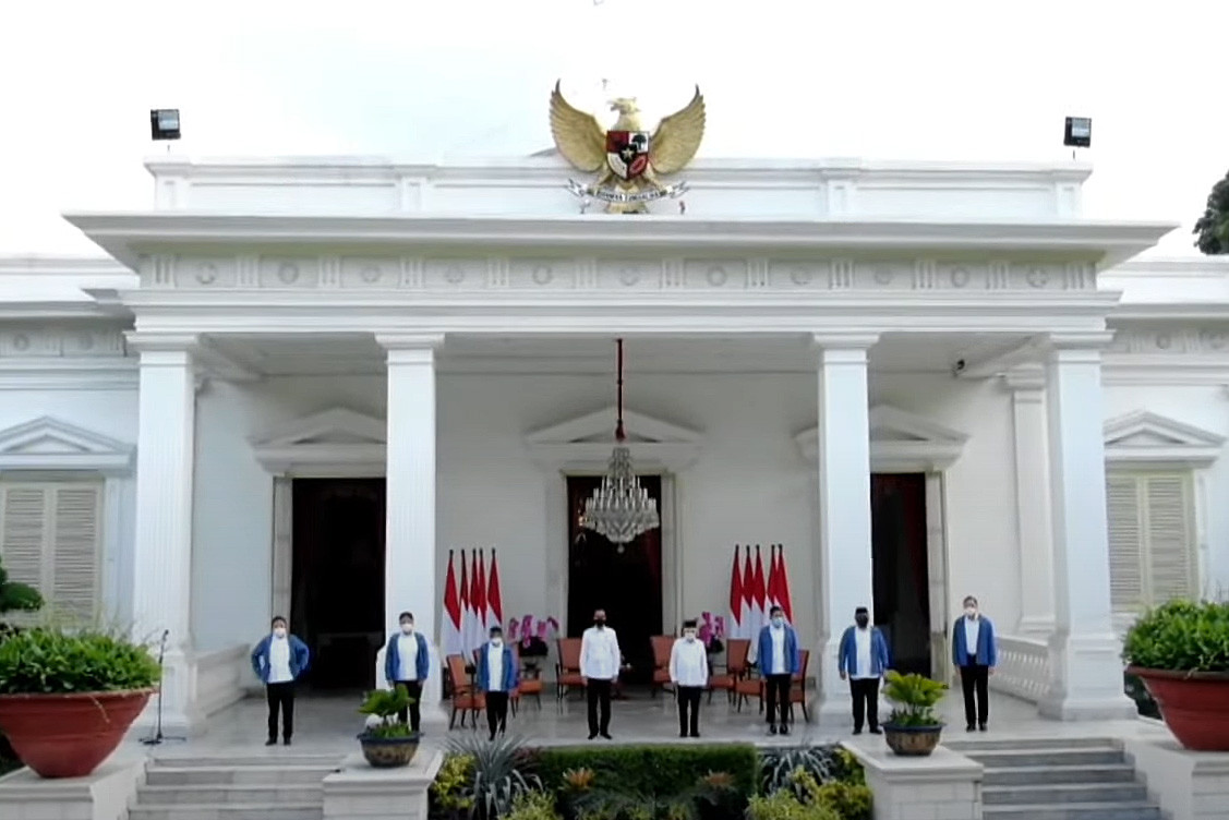 Jokowi announces end-of-year Cabinet reshuffle