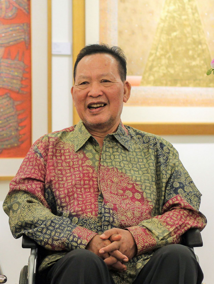 Remembered: Renowned Balinese artist I Made Wianta passed away on Nov. 13, leaving some 25,000 artworks he had meticulously archived as well as his stance on social and political issues as his legacy. A new exhibition opened on Dec. 20, the day the artist would have turned 71, at Komaneka Gallery, Keramas in Gianyar, Bali.