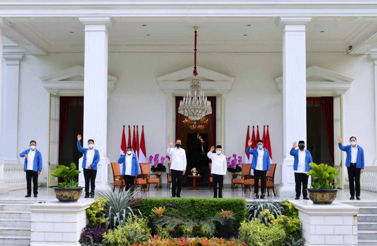 More additions as Jokowi inaugurates new Cabinet members