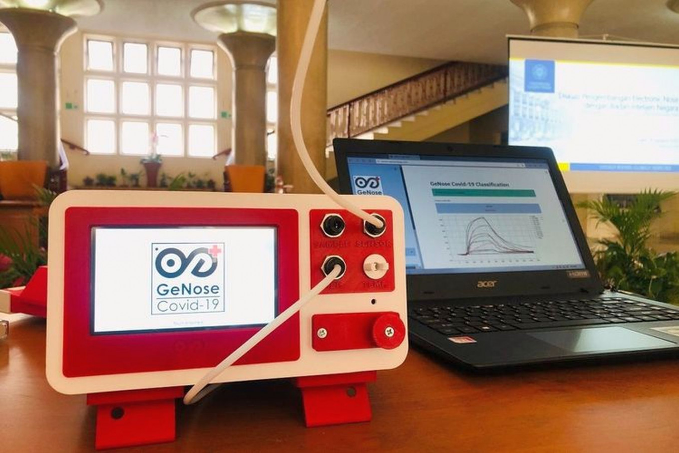Locally made COVID-19 detector approved by Health Ministry