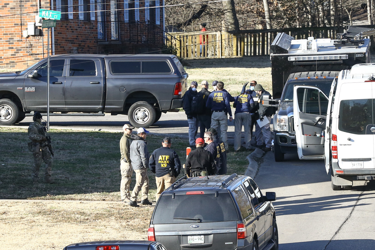 'He was not on our radar': authorities search for motive in Nashville blast