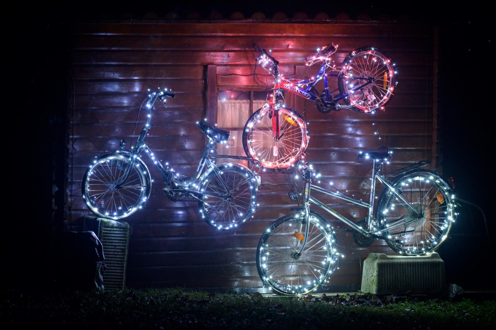 Slovenians hope for easier ride in 2021 with decorated bikes