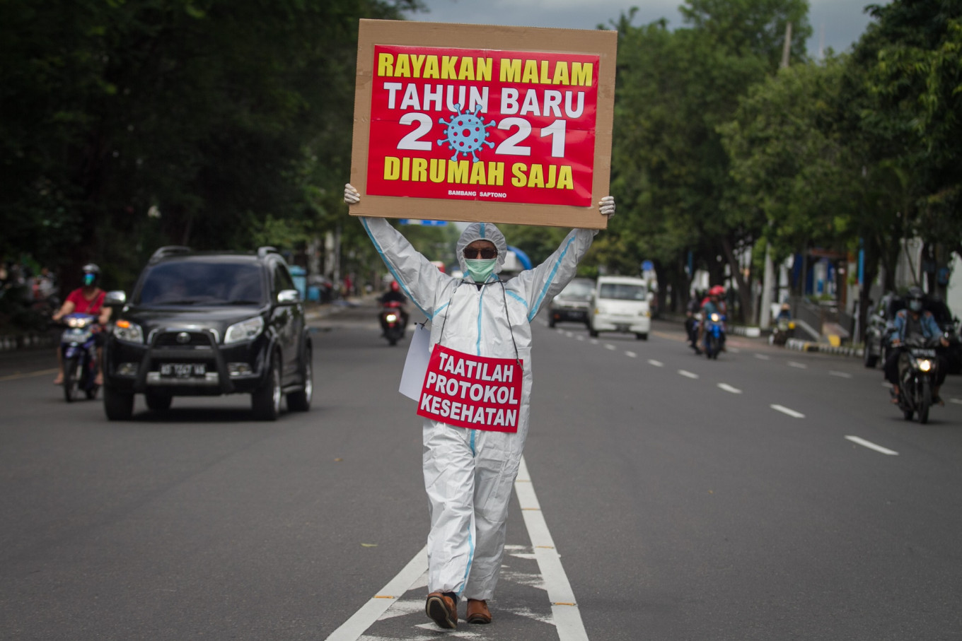 Jakarta sets up measures to prevent public New Year's Eve celebrations