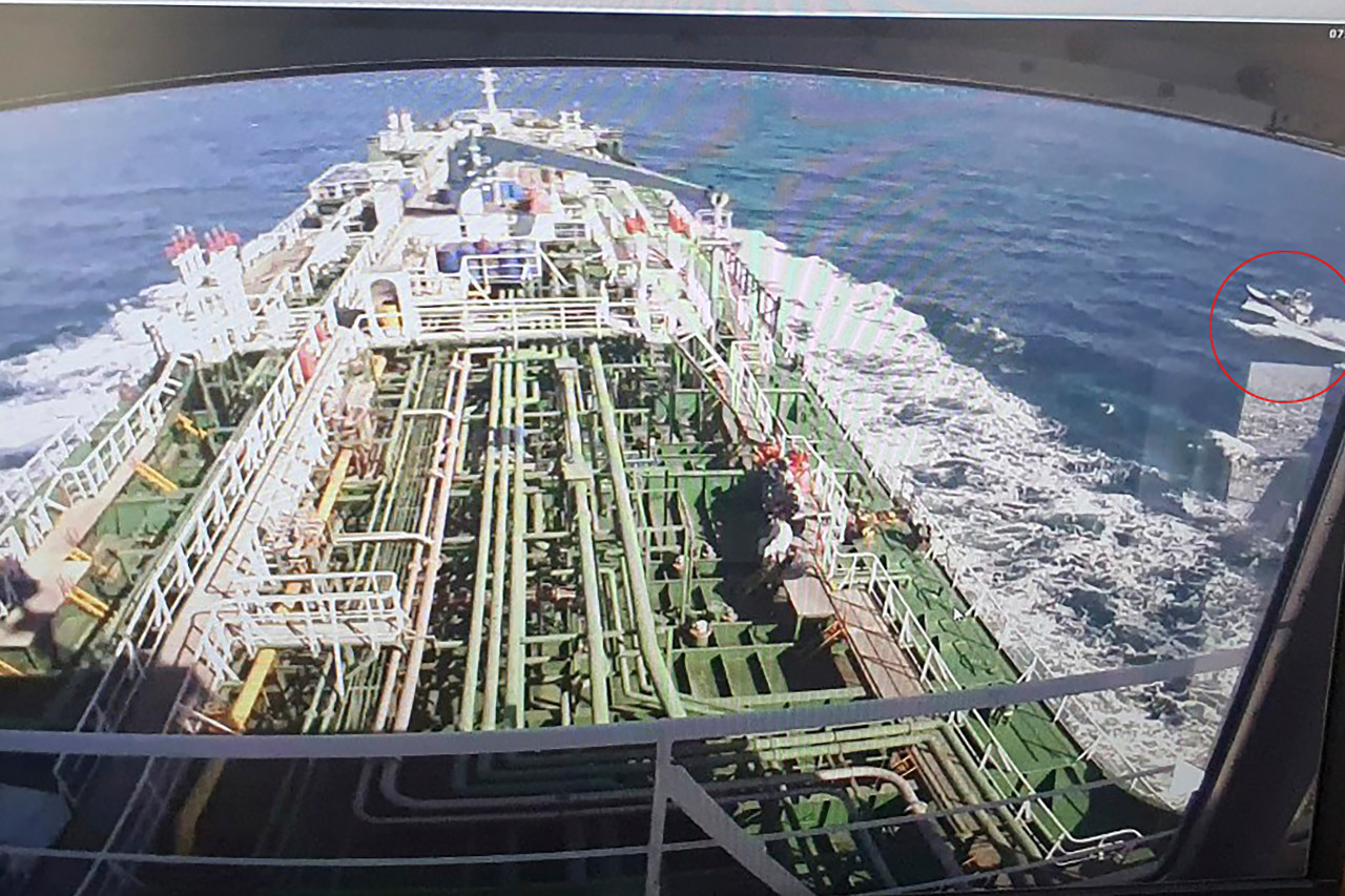 Two Indonesians aboard S. Korean tanker seized by Iran are safe