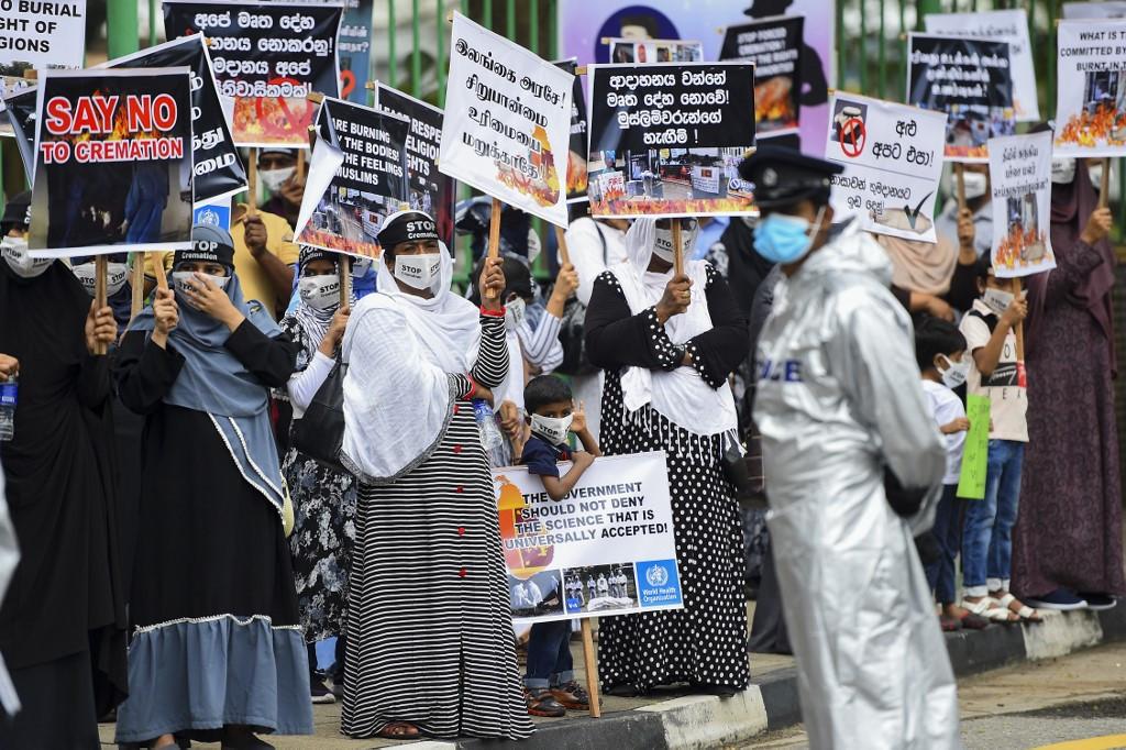 Sri Lanka's plan to bury Muslim Covid-19 victims on islet sparks outcry