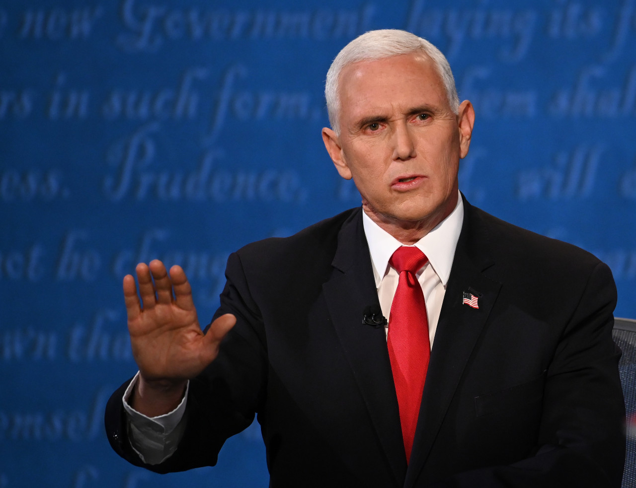 Silence, division between old allies Trump and Pence