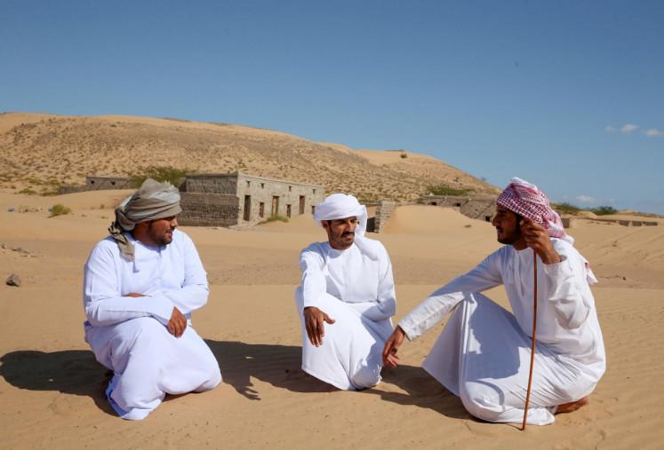 Omanis revive memory of village swallowed by desert