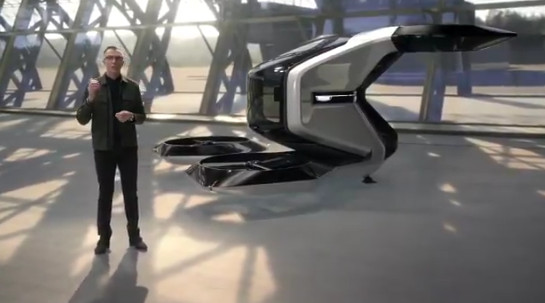 General Motors unveils flying car concept at CES