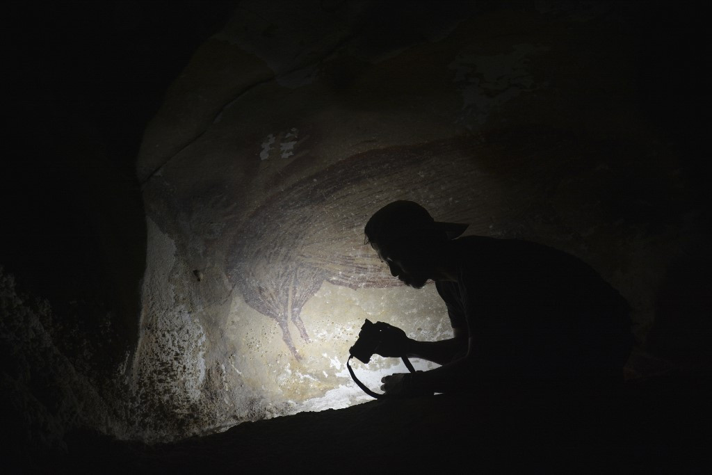 World's oldest known cave painting found in South Sulawesi