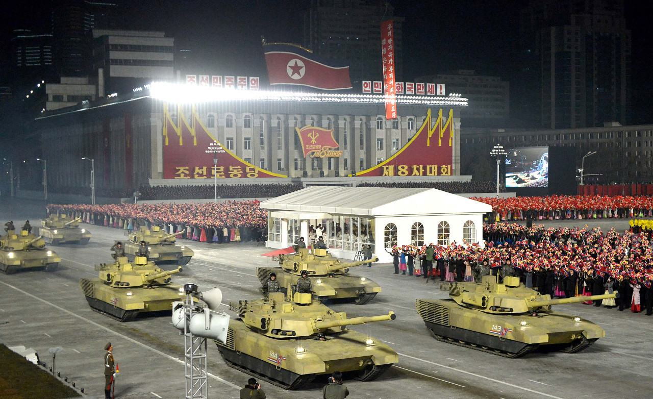 N.Korea shows off new submarine-launched missiles after rare party congress