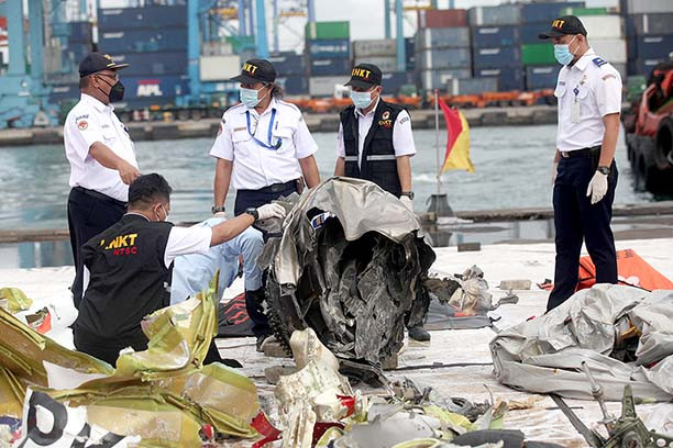Authorities to release report on Sriwijaya Air crash this afternoon