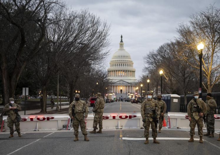 'It was a non-event': Pro-Trump protests quiet amid massive police presence acros