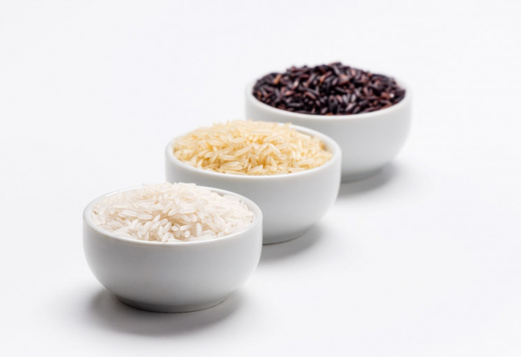 All about rice: Rice is must-have food item in any Indonesian household.