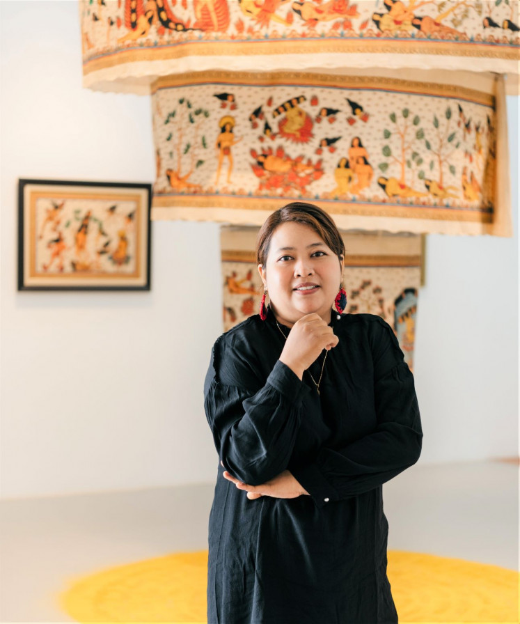 Tales to tell: Artist Citra Sasmita reconstructs Bali's classic fables for her latest commission at Museum MACAN. The gold award winner of  UOB Painting of the Year 2017 (Indonesia) is also renowned for her Timur Merah Project, presented in the 'Garden of Six Seasons' (2020) exhibition in Hong Kong, and the 'Ode To The Sun' (2020) show at Yeo Workshop in Singapore.