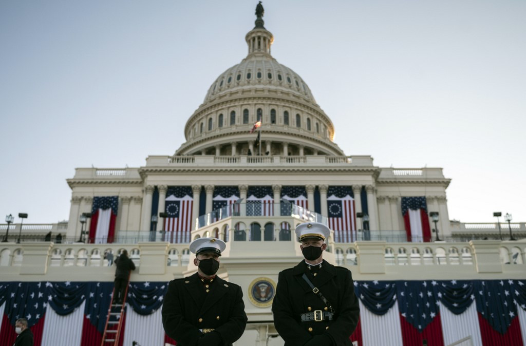 Global markets firmer on Biden inauguration