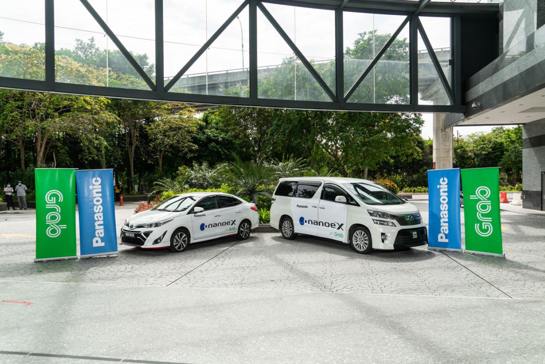 Panasonic, Grab team up to offer passengers more hygienic premium vehicle