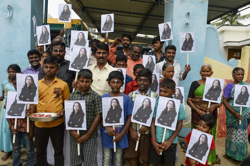 India villagers celebrate Kamala Harris inauguration