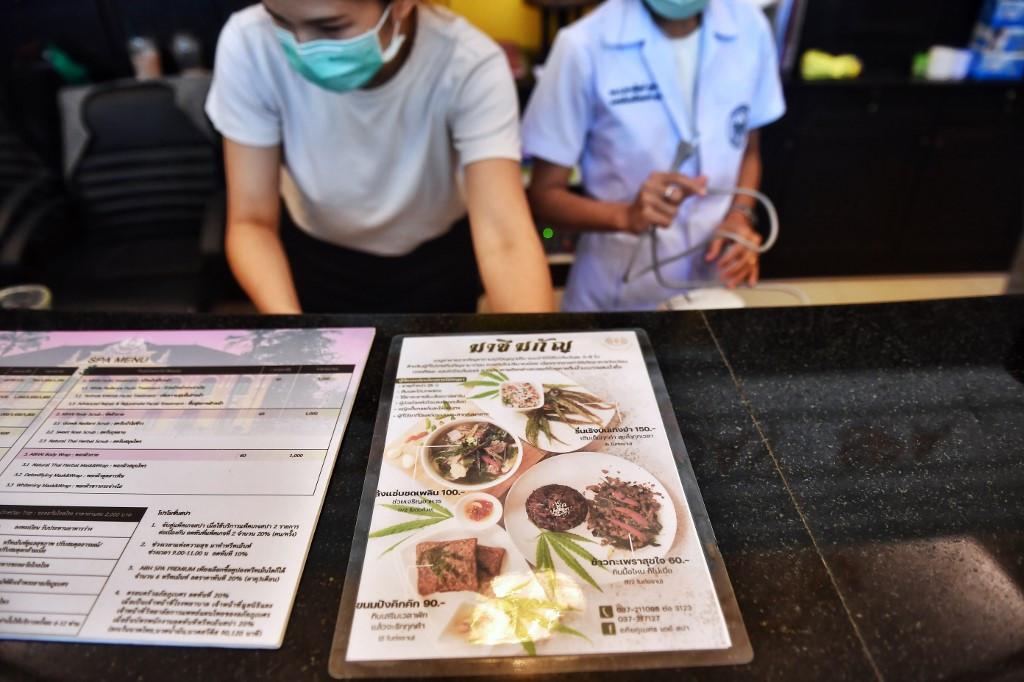 Haute cuisine: Thai hospital rolls out cannabis-laced menu