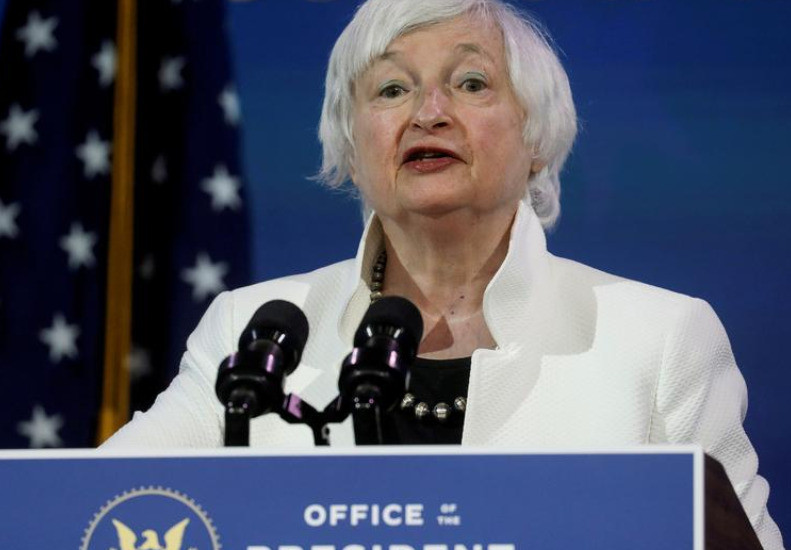 Yellen pledges US international cooperation, calls for global minimum tax