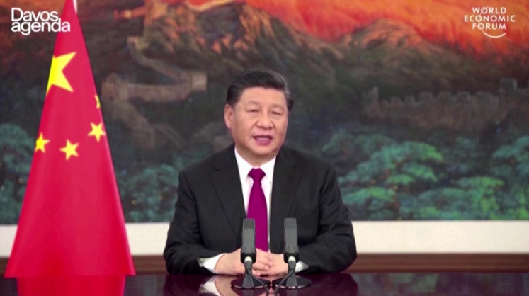 Xi warns Davos forum against 'new Cold War'