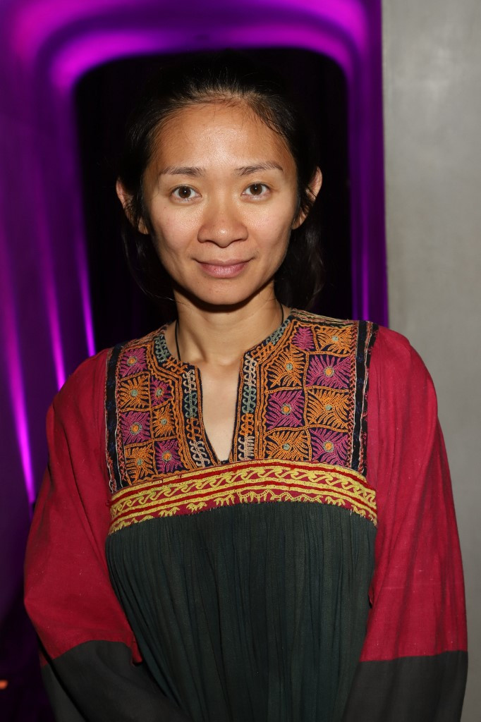 "Filmmaker Chloé Zhao (""Nomadland"") is one of the three women directors nominated this year, alongside Regina King ("