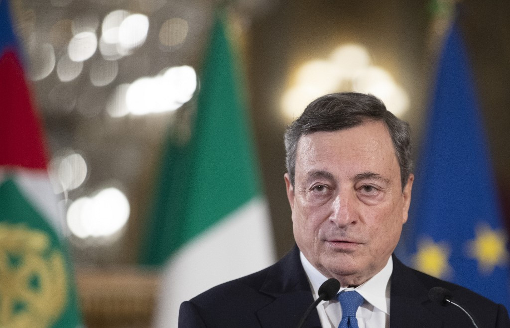 Mario Draghi begins talks to form new Italian government