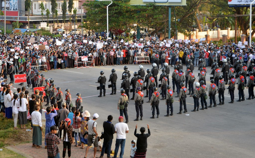 Myanmar generals under renewed pressure after sanctions, mass protest