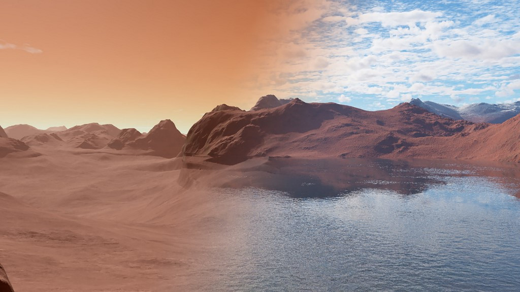 Scientists detect water vapour emanating from Mars