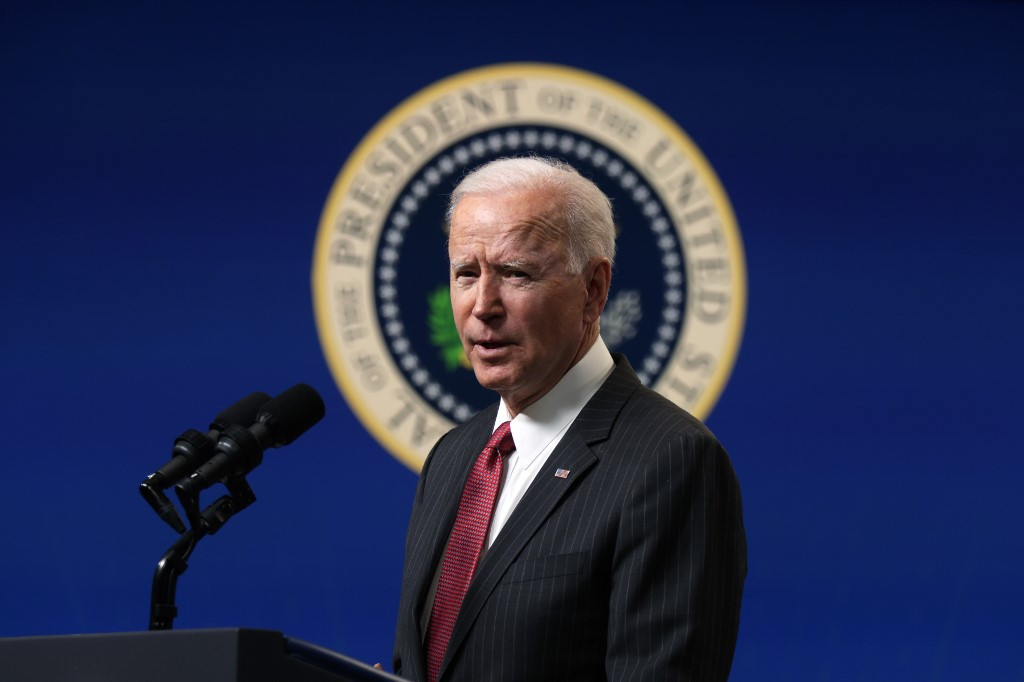 Biden says US air strike in Syria a warning to Iran
