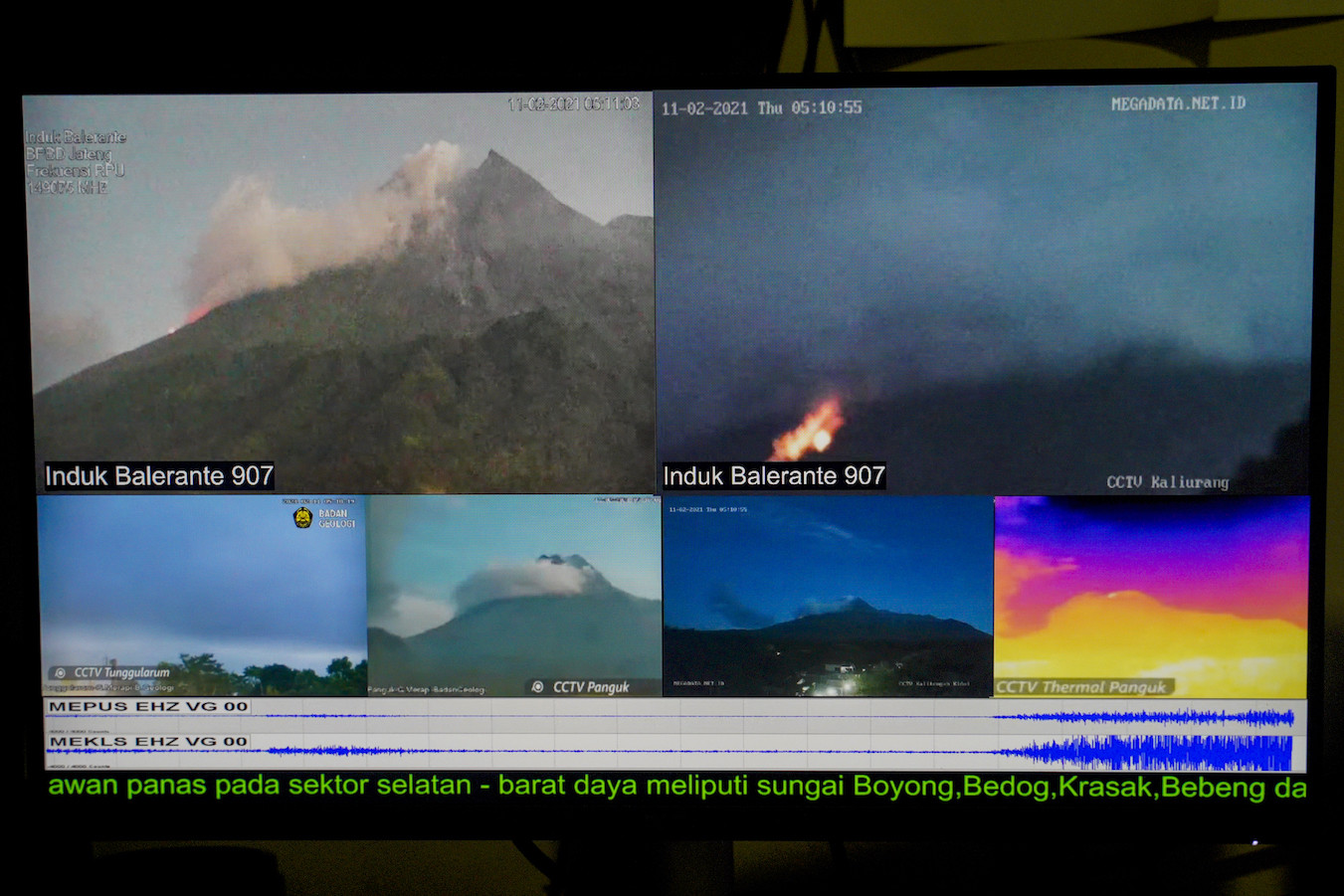 Live-streaming Merapi: Villagers build communities through their own YouTube channels