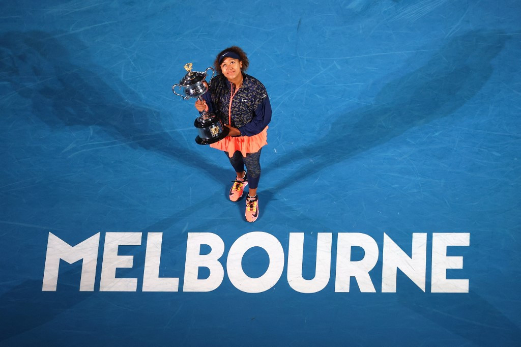 Naomi Osaka beats Jennifer Brady to win Australian Open
