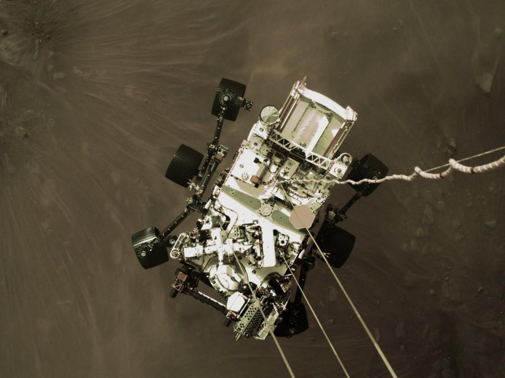NASA's Perseverance rover beams back spectacular new images