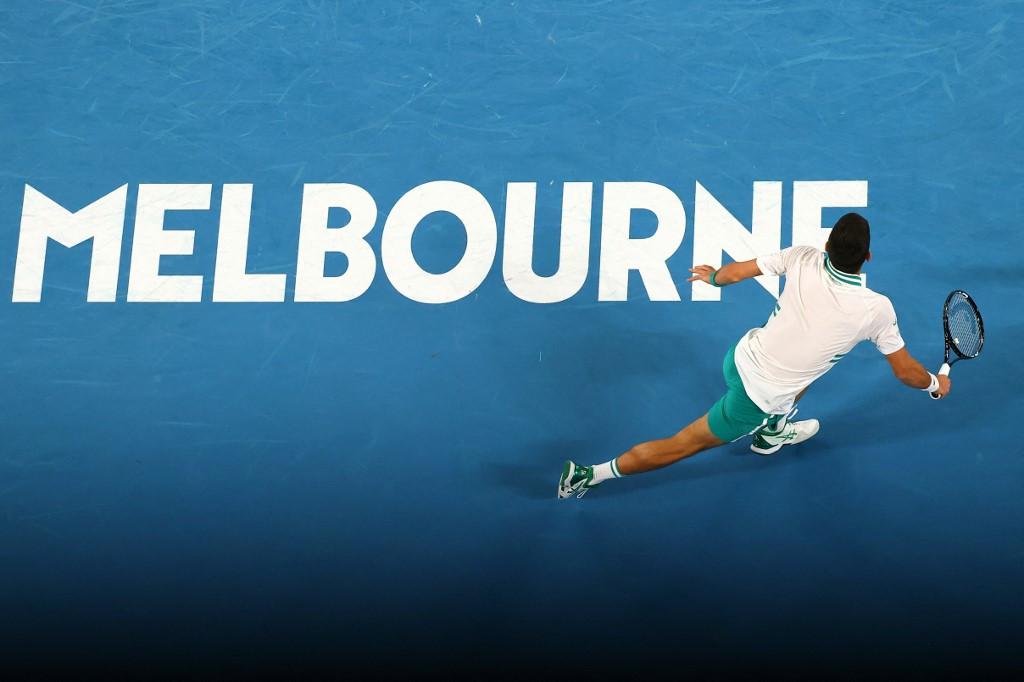 Djokovic beats Medvedev in three sets to win ninth Australian Open