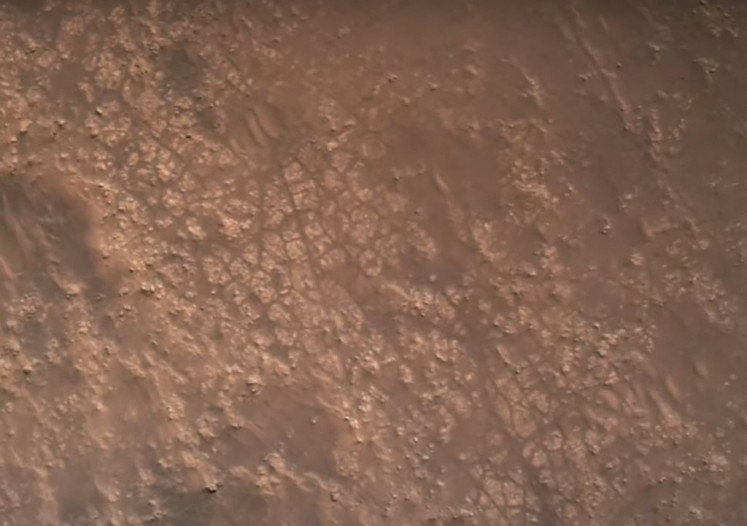 NASA rover provides landing images on Mars, sound of Martian breeze