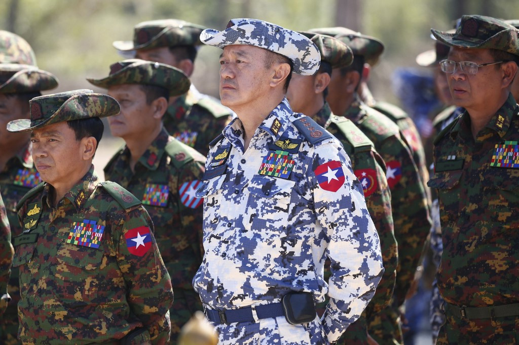 US puts sanctions on two Myanmar generals over coup