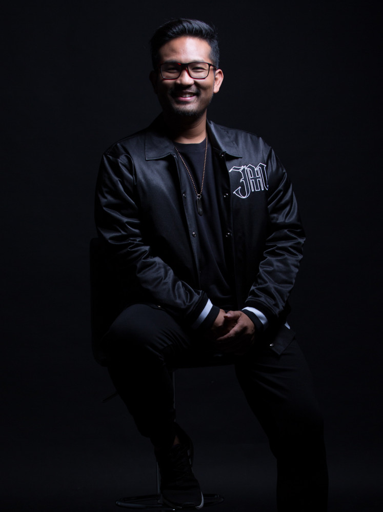 The gamble paid off for Irfan Aulia Irsal of Samsons. Forming Massive Music Entertainment early in its career, the band is now in control of its entire catalogue (The Jakarta Post/Courtesy of Irfan Aulia Irsal)