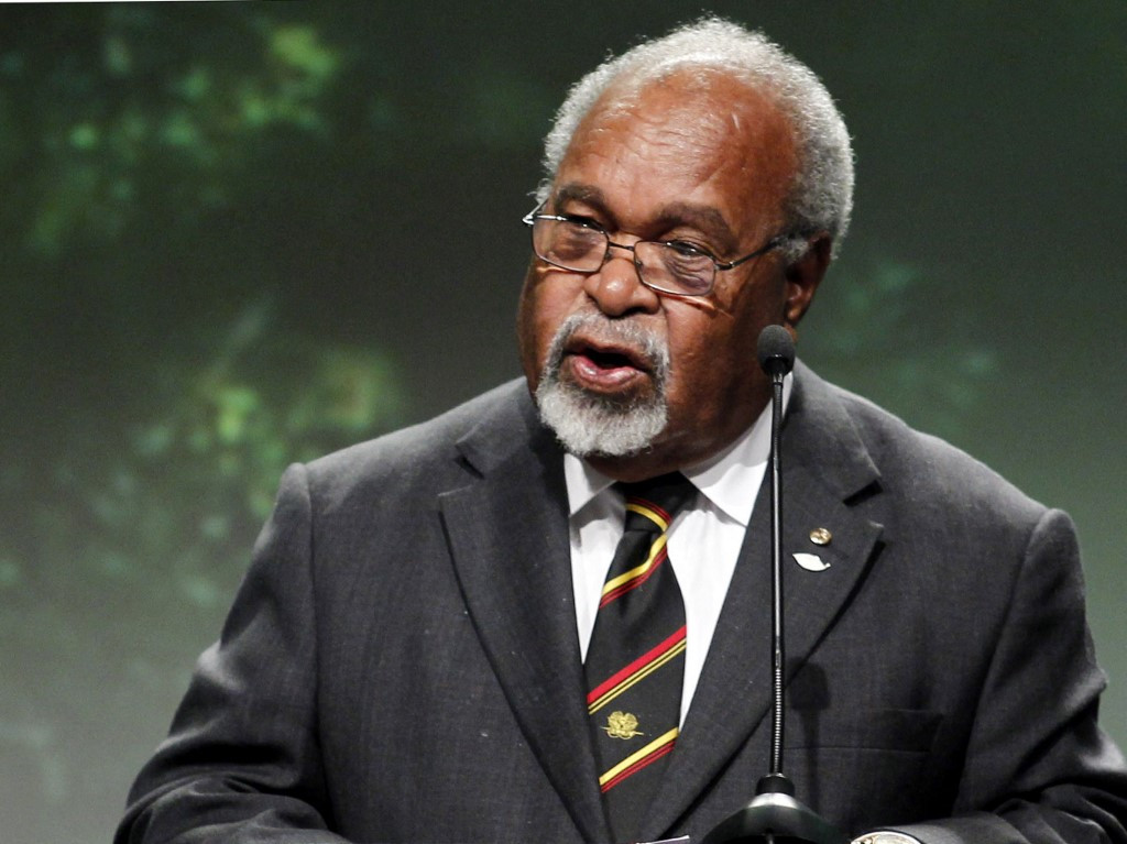 Somare, PNG's 'father of the nation', dead at 84